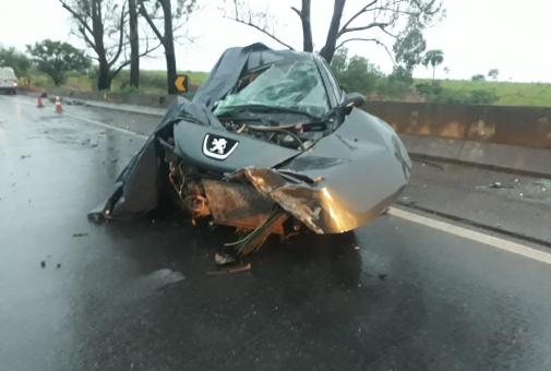 Homem de 57 anos morre em acidente na BR 262 em Luz