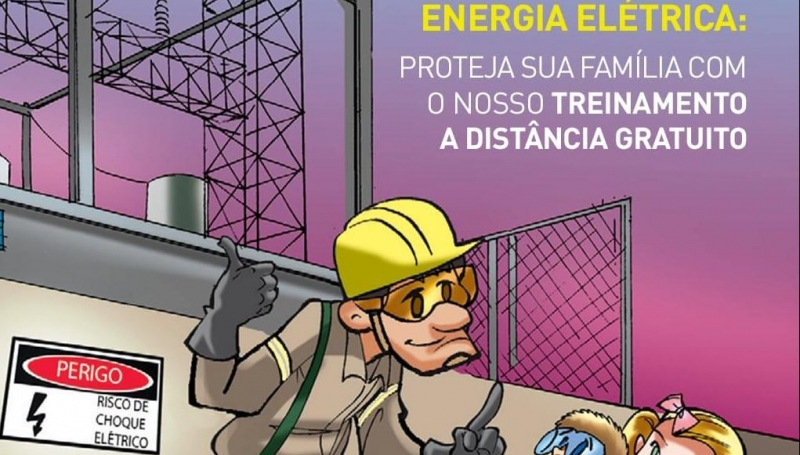 Cemig lança treinamento a distância gratuito para população sobre uso seguro da energia
