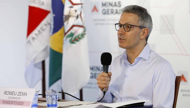 Zema anuncia ampliação do Bolsa Merenda e repasse a fundos assistenciais dos municípios